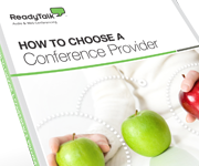 How to Choose a Conferencing Provider Whitepaper