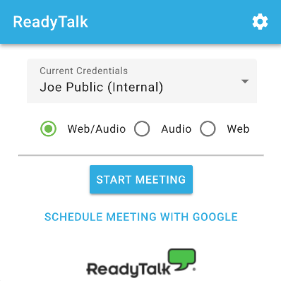 ReadyTalk for Google Calendar