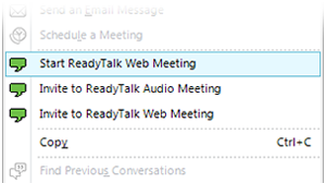 ReadyTalk for Microsoft Lync