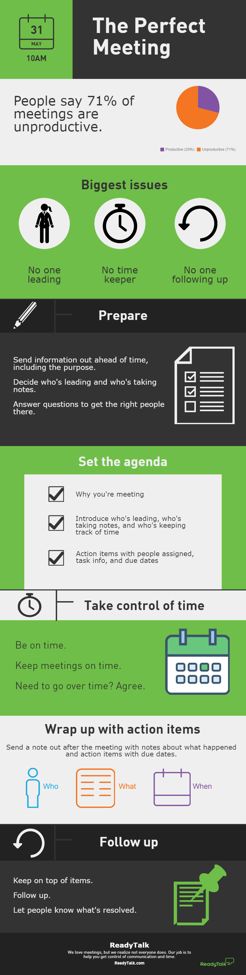 How to have a perfect meeting