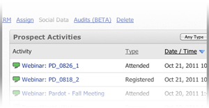 Capture Attendance Data with ReadyTalk for Pardot