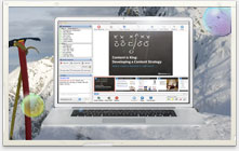 ReadyTalk Webinar on an Apple computer