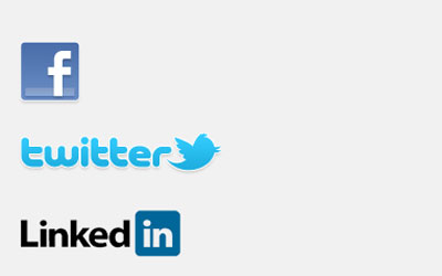 Share recorded content on Facebook, Twitter and LinkedIn